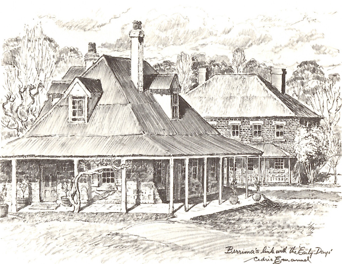 accommodation in Berrima- Berrima, 'Eschalot' restaurant and the Crowne Inn