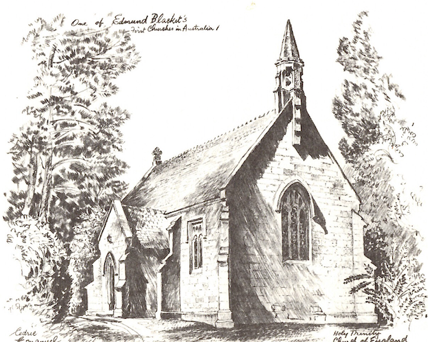 accommodation in Berrima- Holy Trinity Anglican Church Berrima