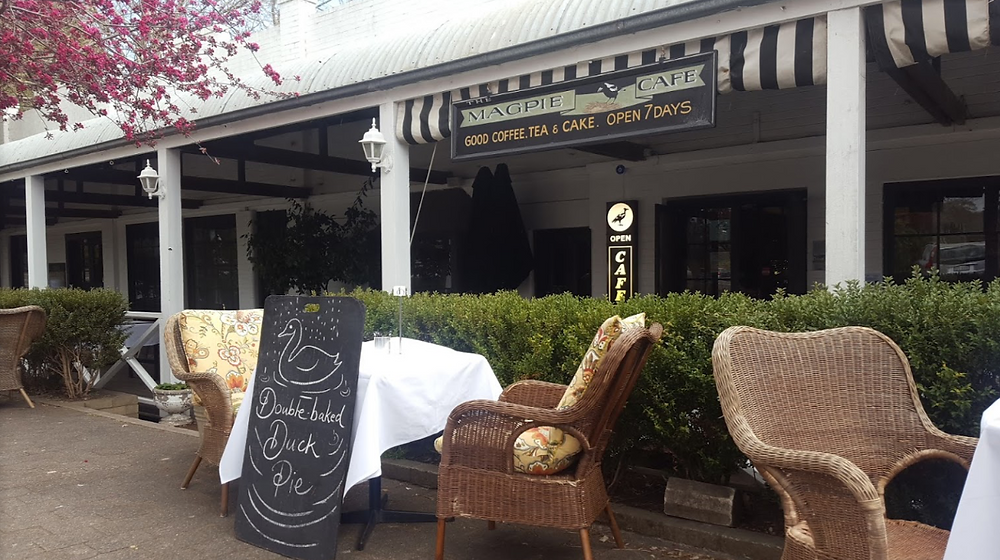 accommodation in Berrima- The Magpie Cafe Berrima