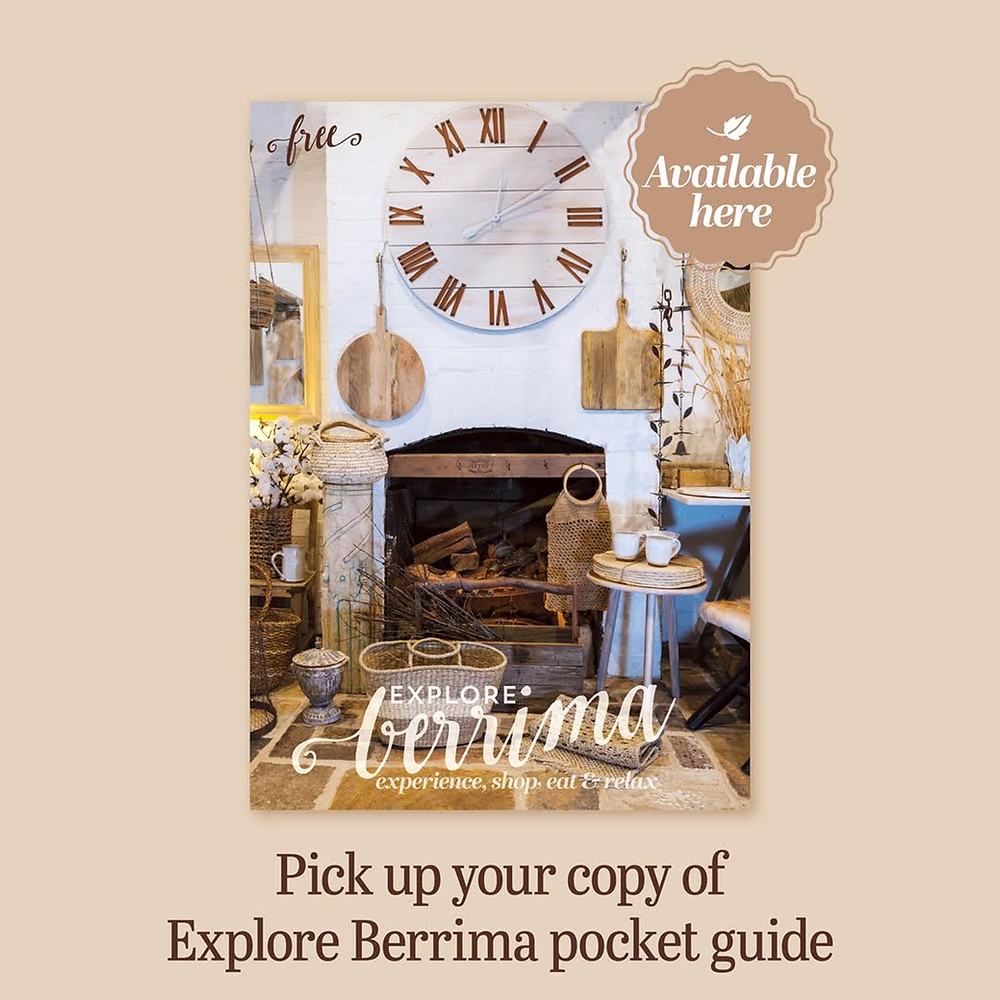 Front cover of Berrima Pocket Guide