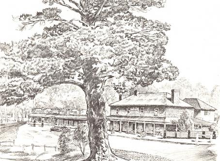 Cedric Emanuel sketches of Berrima