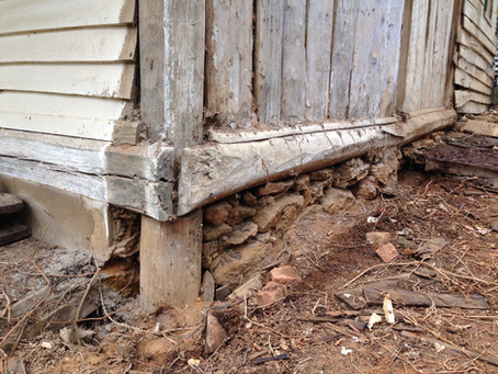 Restoring An Australian Timber Slab Hut