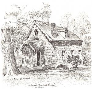 accommodation in Berrima- Finlayson's Memorial Church - Argyle Street Berrima