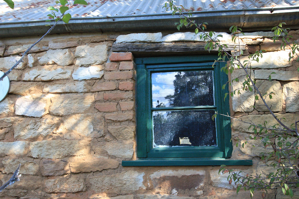 Accommodation in Berrima- Garden Sandstone relic