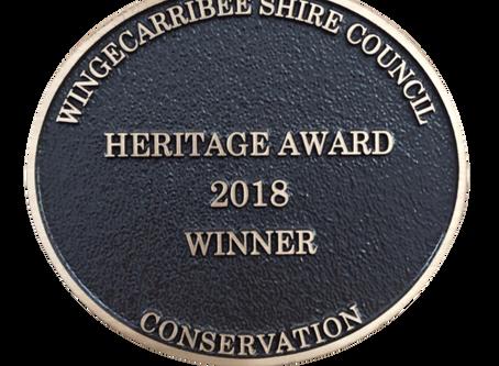 Oldbury Cottage | 2018 Heritage Award Winner