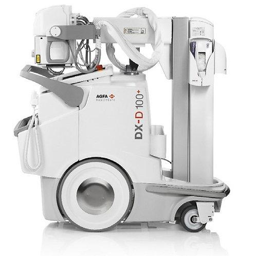 Unidad de rayos compacta y móvil | DX-D 100+