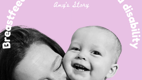Breast/chestfeeding with a disability: Amy's story