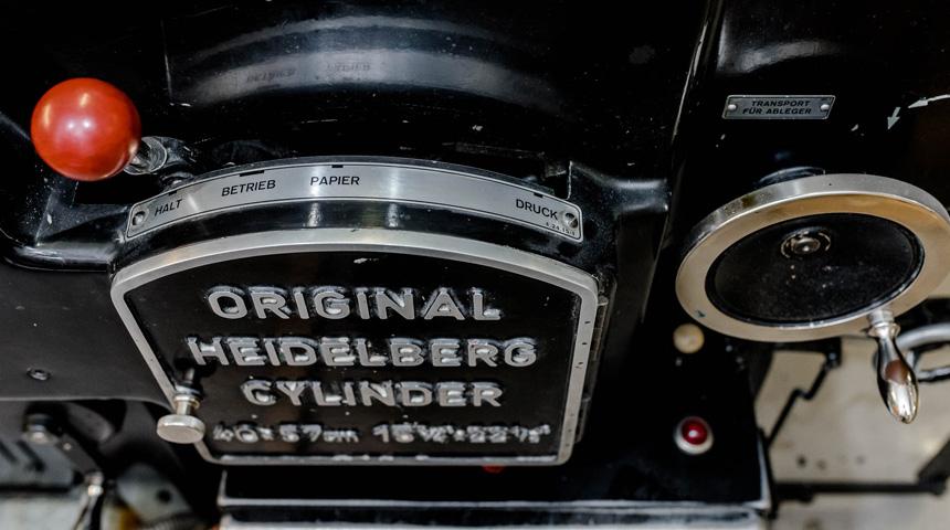 Buchdruckmaschine –OHZ