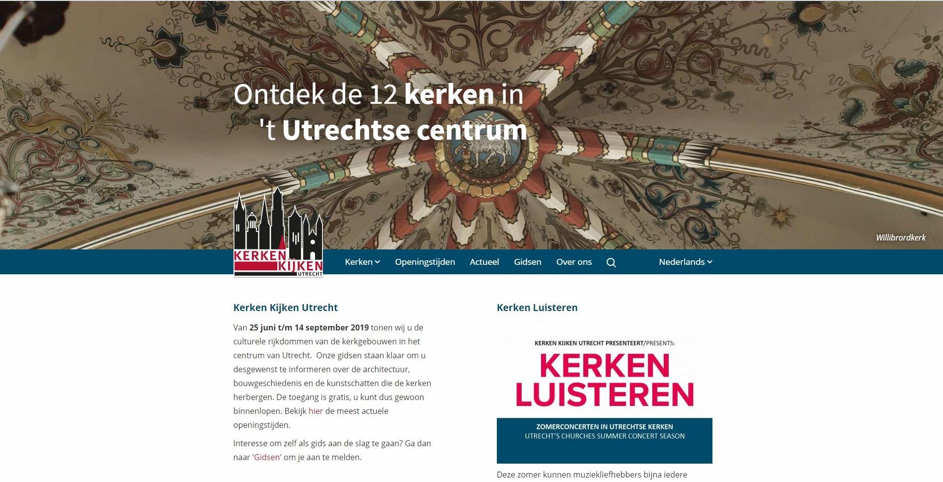 Homepage kerkenkijken.nl
