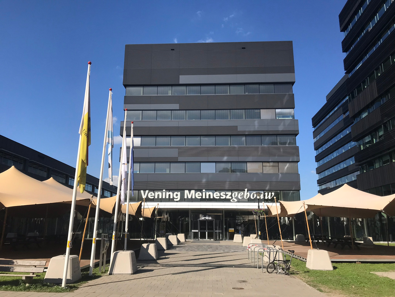 Grand Opening Vening Meineszgebouw faculteit Geowetenschappen Universiteit Utrecht