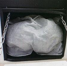 集塵されたダストボックス