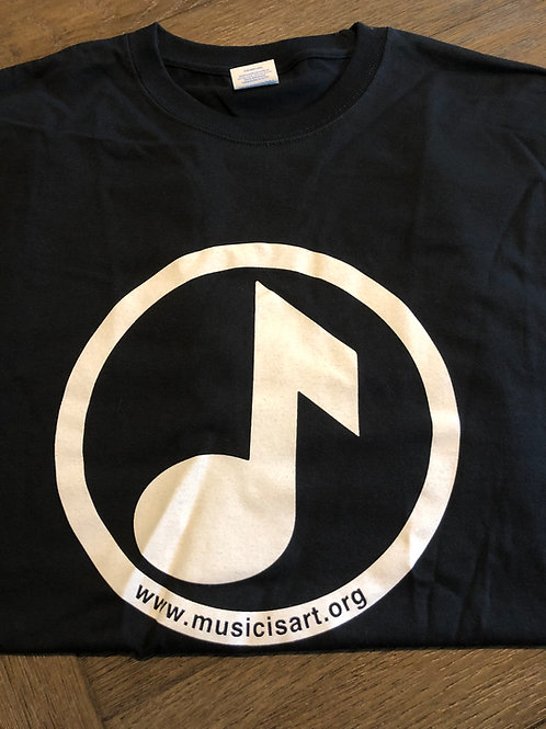 MiA logo black tee