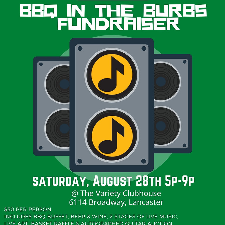 BBQ in the Burbs Fundraiser