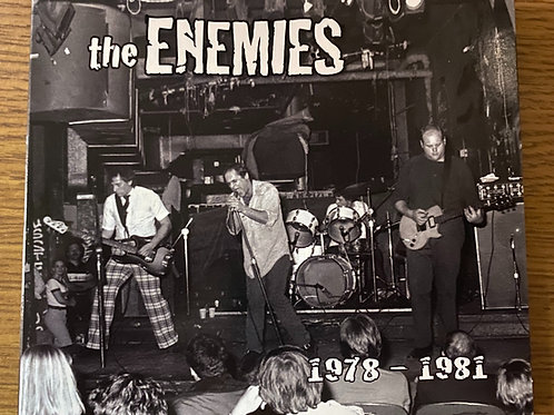 Physical CD -the Enemies 1978-1981