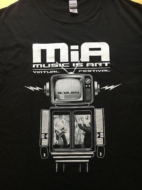 MiA Fest 2020 poster tee