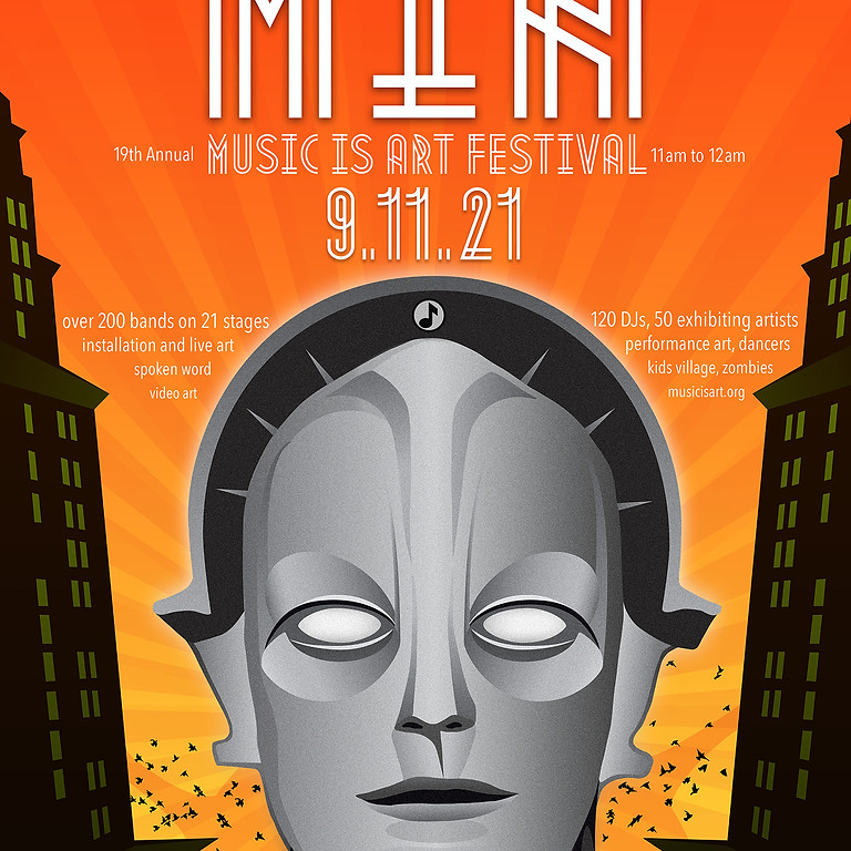 Music is Art Festival 2021 VIP Ticket