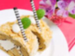 カフェモカ ロールケーキ