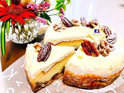 キャラメルナッツチーズケーキ