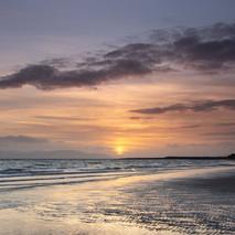 Ayrshire coastline sunset