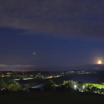 October - Jupiter Descending over Bridge of Weir