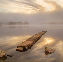 Foggy Morning Loch Ard