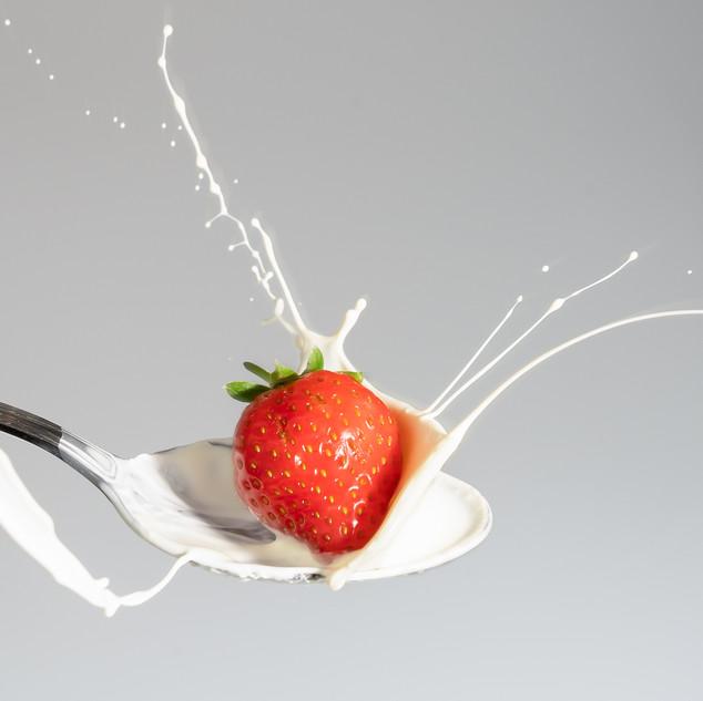 STRAWBERRY AND CREAM - WINNER OF FOOD