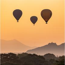 Three balloons, Baghan