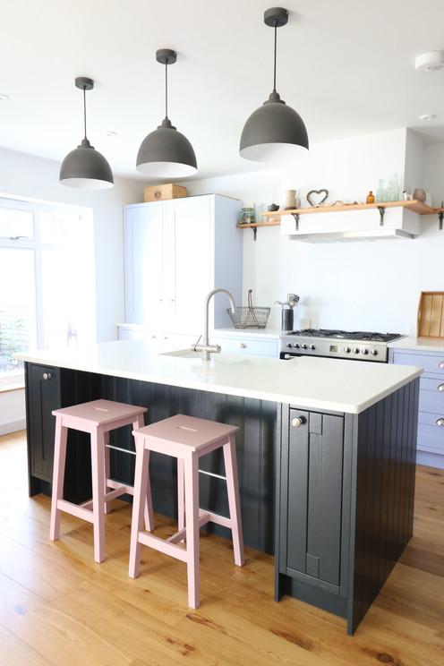 Feature Island Shaker Kitchen