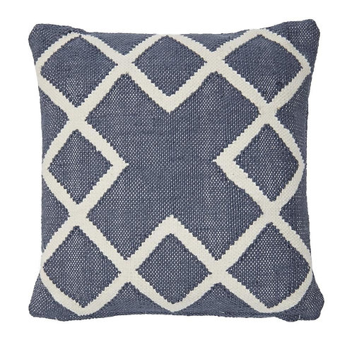 Juno Square Cushion navy (including inner pad)