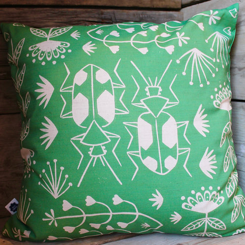 Panagaeus Crux Major Beetle Cushion Cover