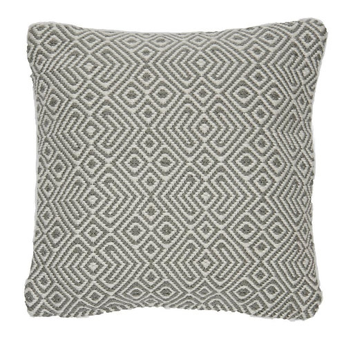Provence Cushion, in Dove Grey, including inner pad
