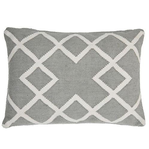 Juno Large Rectangular Cushion Dove Grey (including inner pad)