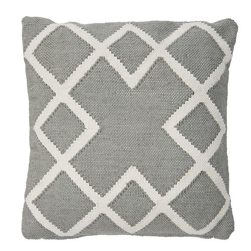 Juno Square Cushion Dove Grey (including inner pad)