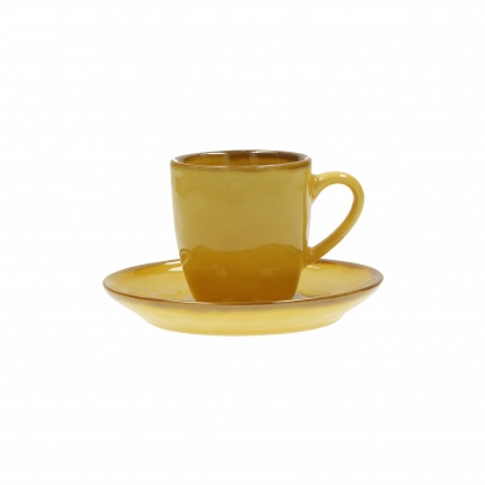 Espresso Cup and Saucer - available in various colours