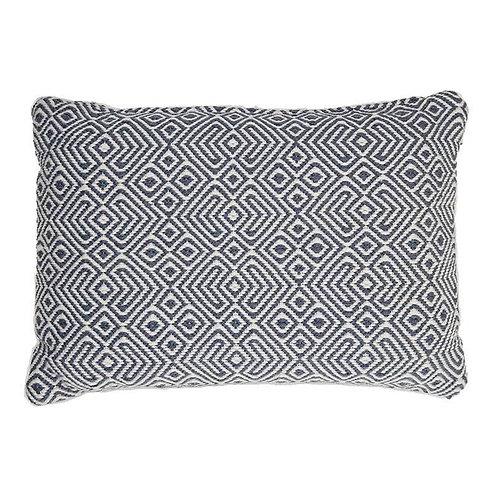 Provence Cushion Navy, Rectangular (including inner pad)