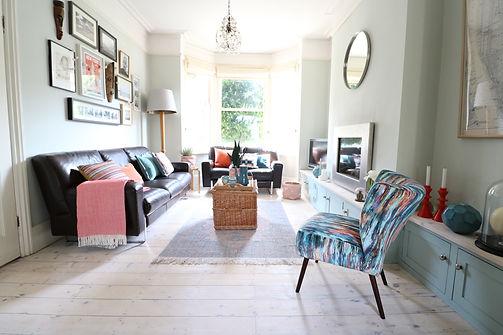 Victorian house renovation - lounge desi