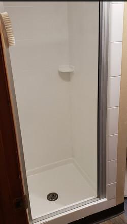 Shower 1 after