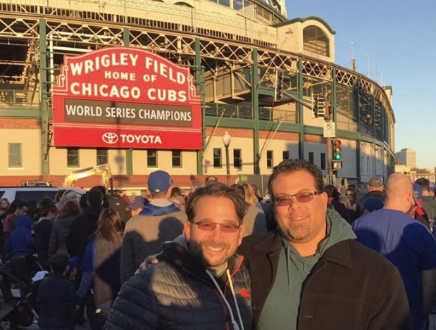 Greg & Michael Wrigley Field