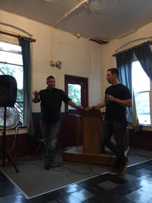 Todd and Jeff speaking