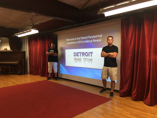 Todd and Jeff presenting at Iron County Historical Museum