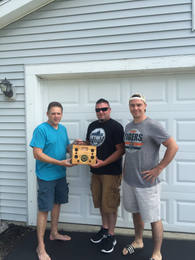 George Brown, Todd Bonner and Jeff Adkins