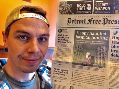 Jeff Adkins in Detroit Free Press