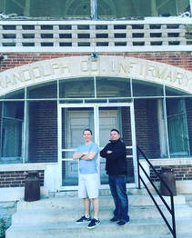 Jeff and Todd at Iron County Historical Museum