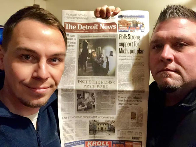 Jeff Adkins and Todd Bonner in Detroit News