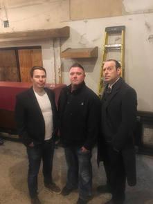 Jeff Adkins, Todd Bonner and John E.L. Tenney