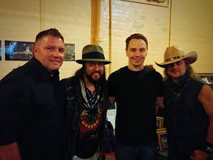Todd Bonner, Jeff Adkins and the Booth Brothers