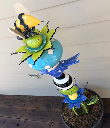 Bee Totem top view