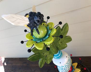 ceramic bumble bee