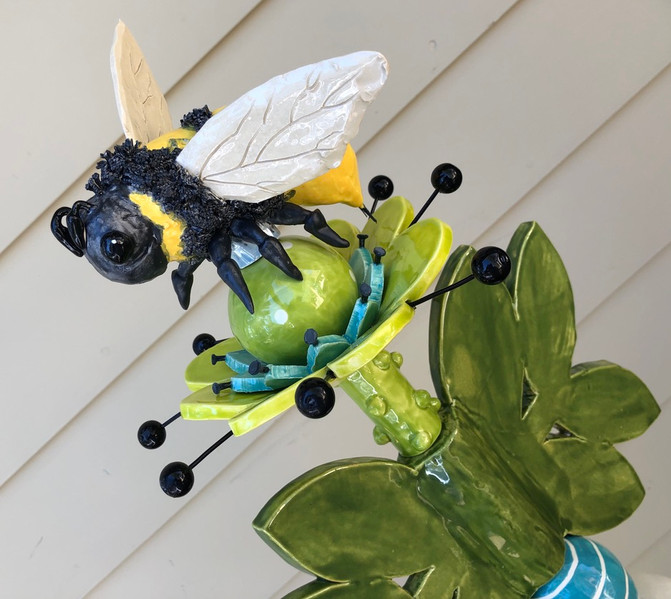 colorful Bumble Bee