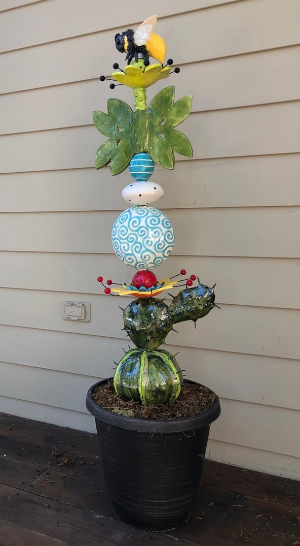 whimsical Garden Totem